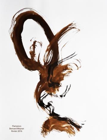 Bernard MEYRAN Flamenco 1976