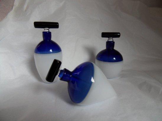 Baquère - bi color bleu