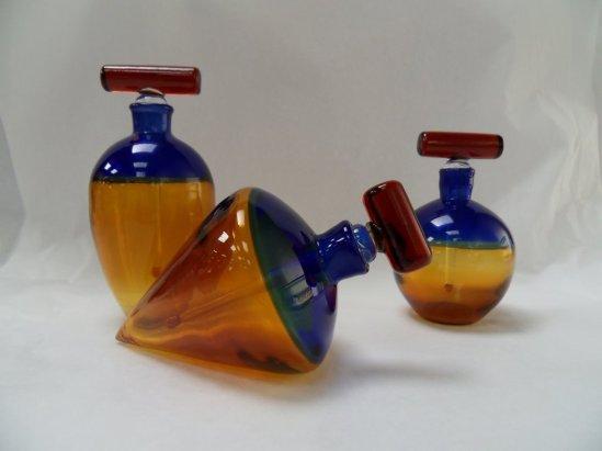 Baquère - flacon bi colore