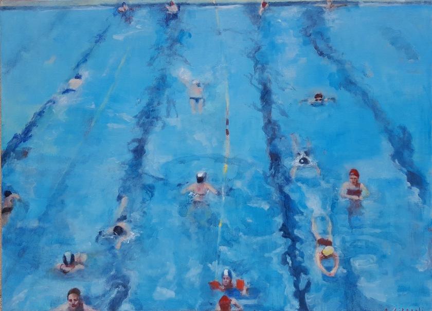 Sandra d'Angeli piscine