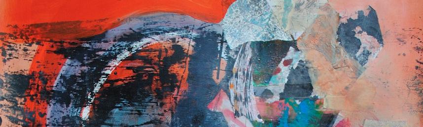 «Je peins, un point c'est tout. Une peinture abstraite qui m'offre une liberté extraordinaire».