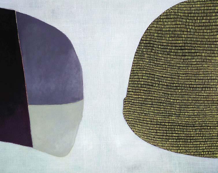 Valérie Valérie Lemoal -Acrylique sur toile 92 x 73 cm