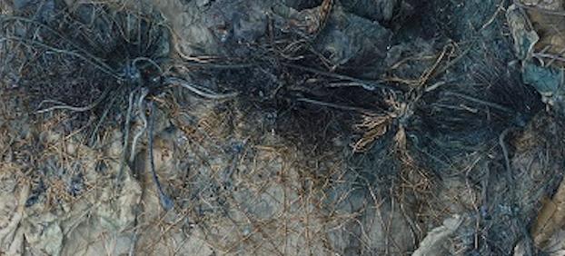 Artiste-artisan, Odile Stemmelin creuse et file Matières à dire les paysages qui latraversent