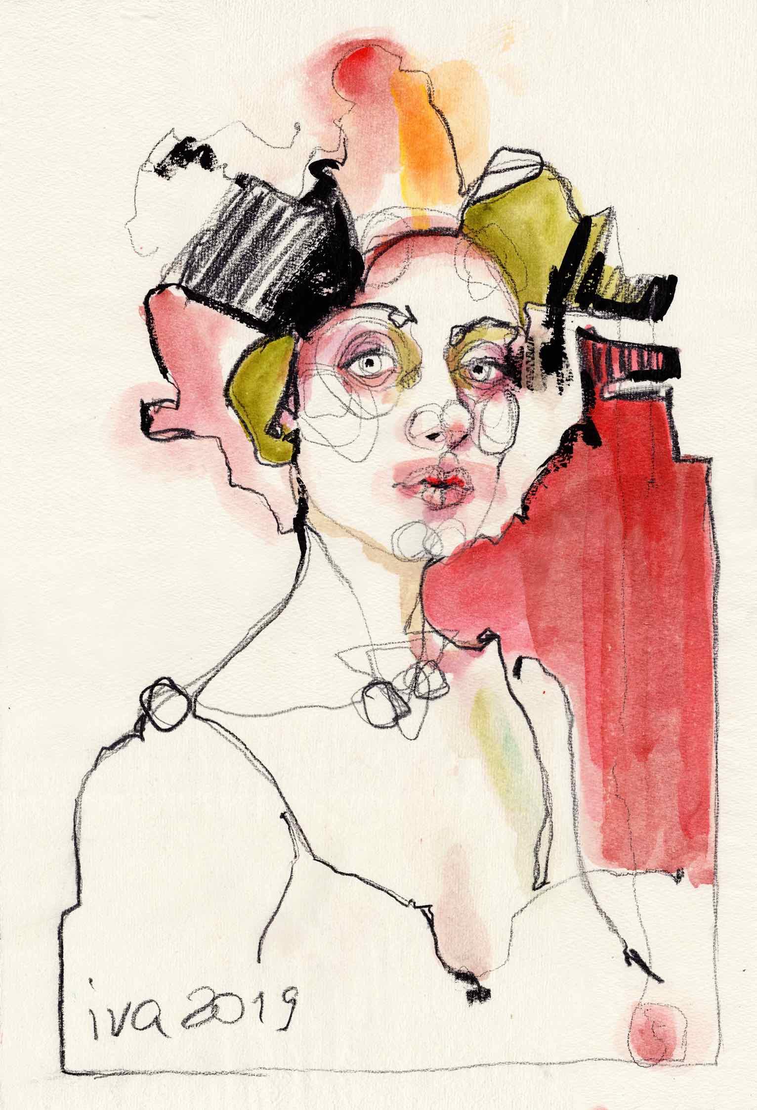 2.Ivchenkova_Irène_encre,aquarelle, pierre noire sur papier_55x37cm